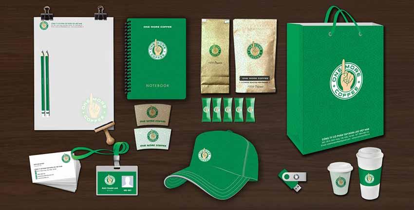 Thiết kế bao bì đồng bộ chú trọng phát triển nhận diện thương hiệu