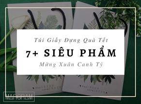 7+ Siêu phẩm túi giấy đựng quà Tết mừng xuân Canh Tý