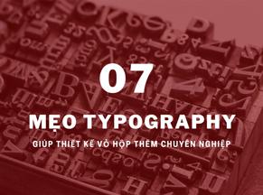 7 mẹo Typography giúp thiết kế vỏ hộp thêm chuyên nghiệp