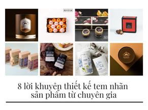 8 lời khuyên thiết kế tem nhãn sản phẩm hiệu quả từ chuyên gia
