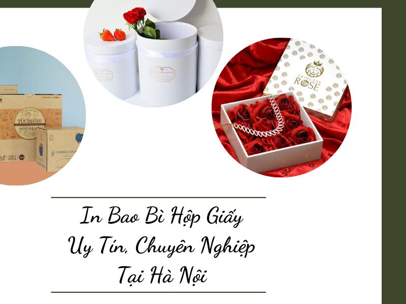 In Bao Bì Hộp Giấy Uy Tín, Chuyên Nghiệp Tại Hà Nội