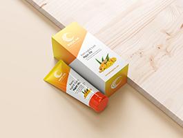 Tuýp hộp giấy kem nghệ