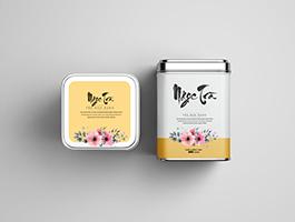 Nhãn dán hộp trà Ngọc Trà