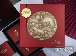 Hộp bánh Trung Thu | Kim Vân Hạc (Đỏ)