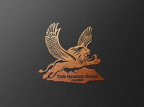 Thiết kế Logo Bất động sản Tân Hoàng Minh