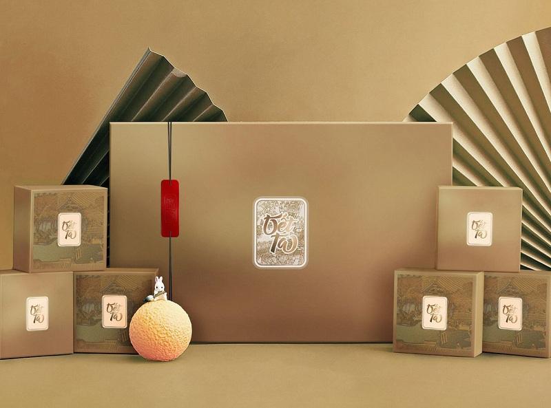 Hộp đựng quà Tết - Tet Season I (Gold)