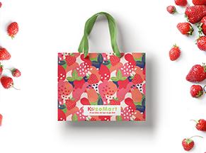 Túi giấy đựng hoa quả