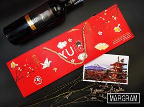 Túi giấy đựng rượu Yu Mart
