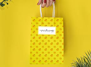Túi giấy Kraft thời trang teen